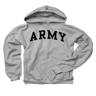 Army Black Knights Youth Gray Hooded Sweatshirt