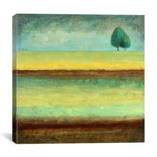 iCanvas Pablo Esteban A Tree by a River Canvas Art Print   15535146