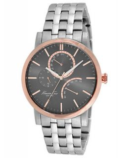 Kenneth Cole New York Watch, Mens Stainless Steel Bracelet 44mm