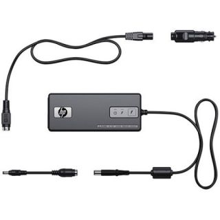 HP 90W Smart pin Auto/Air/AC Adapter for Notebook PCs, KS474AA