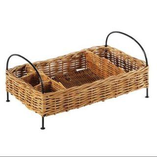 Buffet Rattan Basket Organizer in Natural