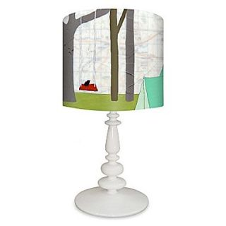 Oopsy Daisy Camp USA 21 H Table Lamp w/ Drum Shade