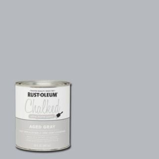 Rust Oleum Specialty 30 oz. Ultra Matte Interior Chalked Paint, Aged Gray (Case of 2) 285143