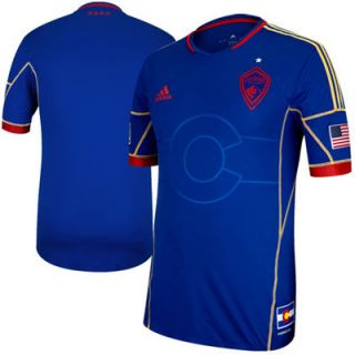 adidas Colorado Rapids Authentic 2013 Away Jersey   Royal Blue