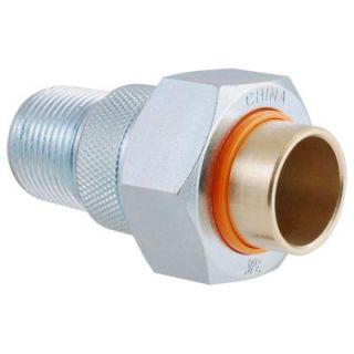 LDR Industries 3/4 in. Galvanized Steel and Brass MPT x Sweat Dielectric Union FSU LFDUM 34