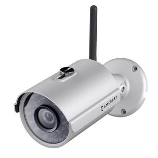 Amcrest IPM 722 1MP 720p Outdoor Day & Night Wi Fi IP Bullet Camera, Silver IPM 722S