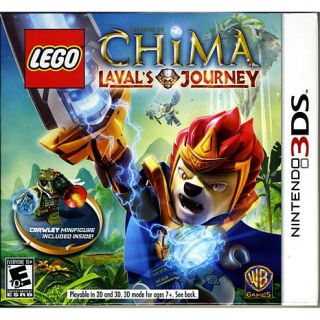 LEGO Legends of Chima: Laval's Journey with LEGO Minifigure   Nintendo 3DS   7859143