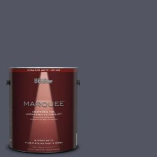 BEHR MARQUEE 1 gal. #MQ5 6 Ball Gown One Coat Hide Matte Interior Paint 145301