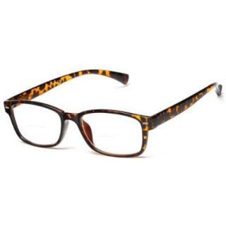 Readers The Hardy Bifocal +2.00 Brown Tortoise Reading Glasses