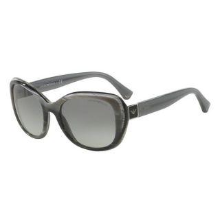 Coach Womens HC8104F L545 Ashley 521411 Plastic Square Sunglasses