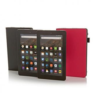 """2 pack of Fire 7"""" Quad Core Tablets Powered by Kindle with 2 Cases and Online S   8230818"""