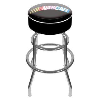 Trademark NASCAR Logo Padded Swivel Bar Stool   15122218