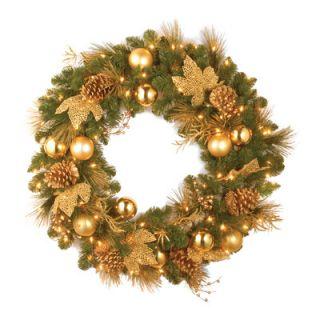National Tree Co. Pre Lit Elegance Wreath
