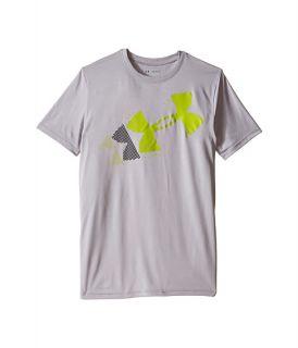 Under Armour Kids Rising Pixelated Logo Short Sleeve Tee Big Kids