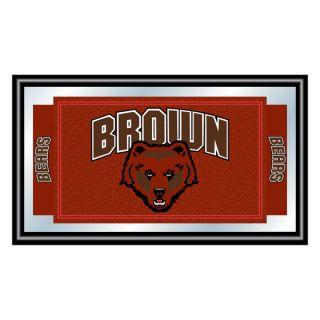 Brown University Logo and Mascot Framed Mirror   17716914