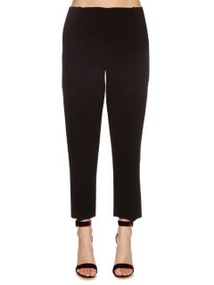 Mid rise cropped cady trousers  Dion Lee US