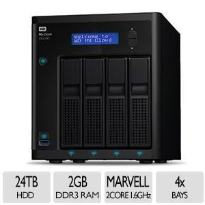 WD My Cloud� EX4100 4 Bay 24TB NAS   Expert Series   Powerful, ready to go NAS for your high performance life (WDBWZE0240KBK NESN)