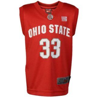 Nike Ohio State Buckeyes #33 Toddler Scarlet Replica Basketball Jersey