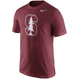 Stanford Cardinal Nike Logo T Shirt   Cardinal
