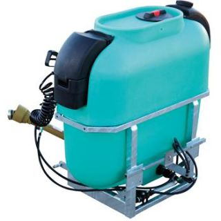 Enduraplas 100 Gal., Three point Sprayer with PTO driven Diaphragm Pump and 30 Boomless Nozzle