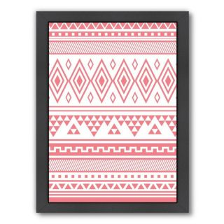 Coral Tribal by Jetty Printables Framed Graphic Art by Americanflat