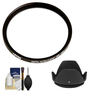 TIFFEN 72mm Digital Ultra Clear WW Protective Filter with Lens Hood