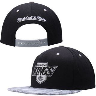 Vinatge Los Angeles Kings Mitchell & Ness Stroke Camo Snapback   Black