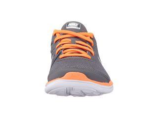 Nike Kids Flex 2016 RN (Little Kid) Dark Grey/White/Total Orange