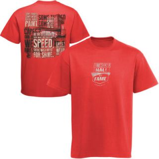 The Game NASCAR Hall of Fame Slogan T Shirt   Red