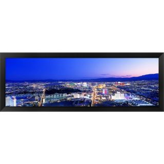 Las Vegas Strip, Nevada Framed Panoramic Photo   16184510