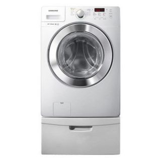 Samsung WF365BTBGWR 3 6 cu ft High Efficiency Gas Front Load Washer in White