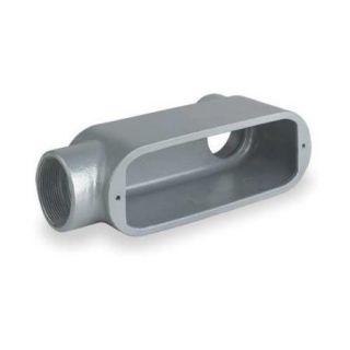 KILLARK OLB 3 Conduit Body, LB Style, 1 In, Aluminum