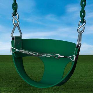 Gorilla Playsets Toddler Swing, Green