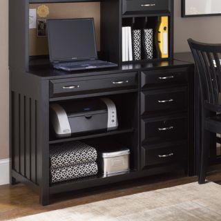 Liberty Furniture Hampton Bay Computer Credenza in Black