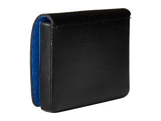 Lodis Accessories Blair Mini Card Case Chestnut/Cobalt