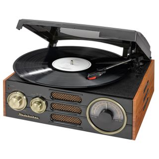 Studebaker 3 speed Stereo Turntable with AM/FM Stereo Radio   18953604
