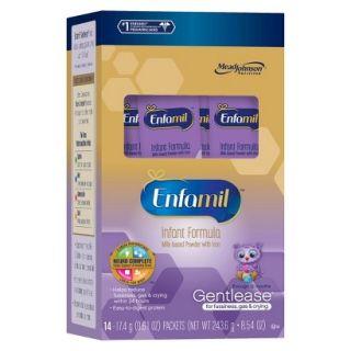 Enfamil Gentlease Infant Formula 14 Single Serve Packets (4pack