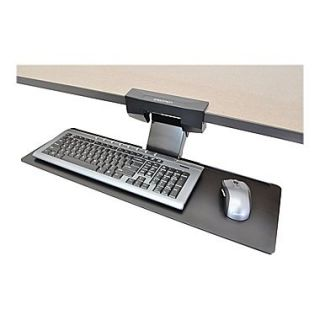 Ergotron Neo Flex Underdesk Keyboard Arm, Black