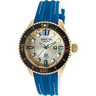 Invicta Watches Womens Pro Diver Grand Diver Silicone Band Watch