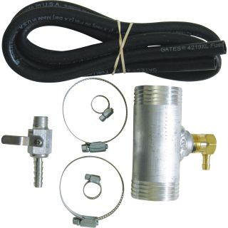 RDS Diesel Install Kit for Auxiliary Diesel Fuel Tank — Fits Chevy/GMC Trucks 1999 - 2010, Model# 011029  Fuel Tank Accessories