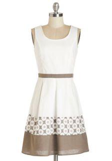 Specialty Latte Dress  Mod Retro Vintage Dresses