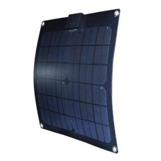 Nature Power 15 Watt Semi Flex Monocrystalline Solar Panel for 12 Volt Charging 56701