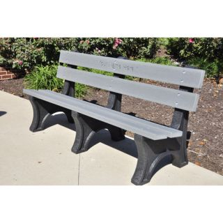 Colonial Recycled Plastic Park Bench