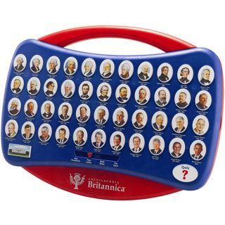 Encyclopedia Britannica U.S. Presidents Talking Interactive Learning Game
