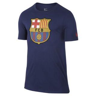 FC Barcelona Crest Mens T Shirt CA