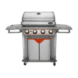 STOK Quattro 600 sq. in. 4 Burner Gas Grill with Insert System SGP4130N