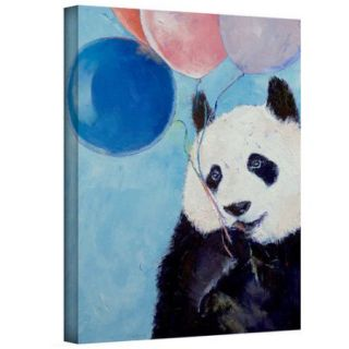 ArtWall 'Panda Party' by Michael Creese Painting Print on Wrapped Canvas