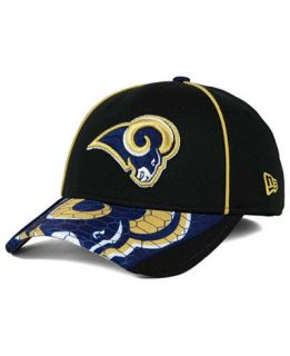 New Era Los Angeles Rams Hex Charge 39THIRTY Cap   Sports Fan Shop By