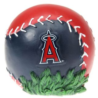 Los Angeles Angels of Anaheim 3D Color Ball Stone   Red/Navy Blue