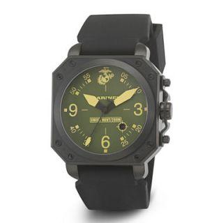 Wrist Armor Mens Marine Corps C4 WA154 Strap Watch